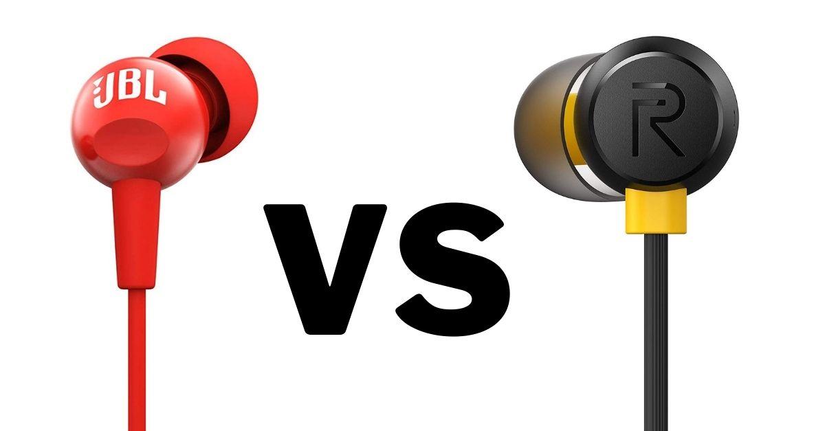 Realme Buds 2 Vs JBL C100SI Comparison