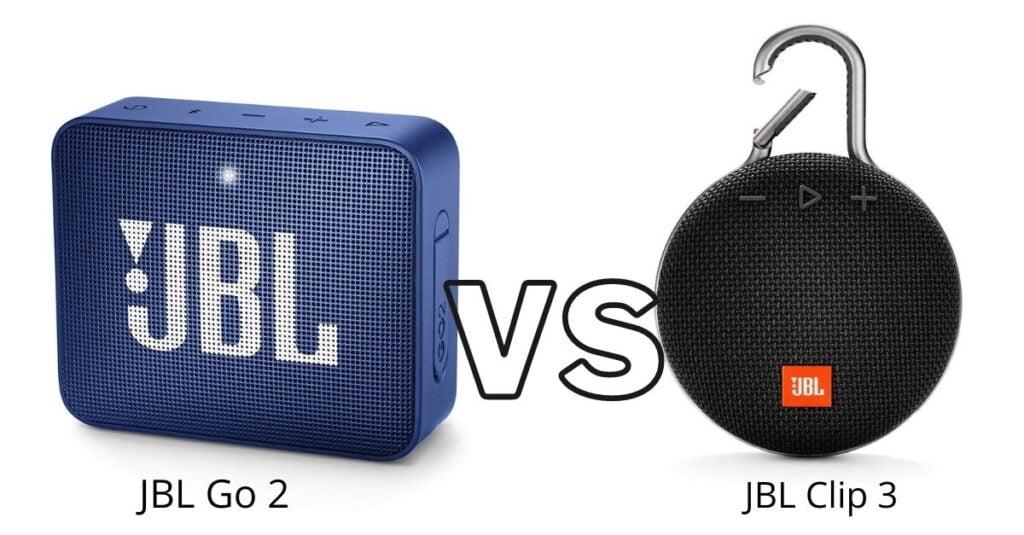 JBL Go 2 Vs JBL Clip 3 Comparison
